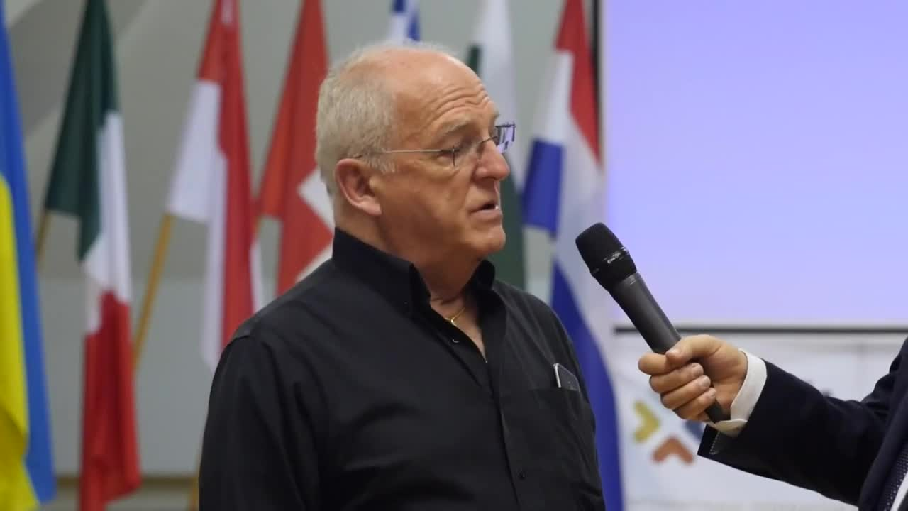 Dr Quentin Van Meter at 3rd IFTCC Conference, 2018
