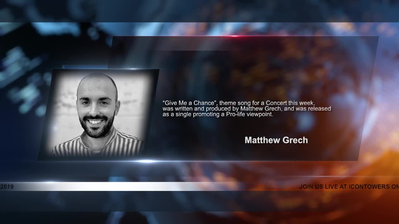 Matthew Grech will be live on April 30th 2019 before the May 2nd Concert