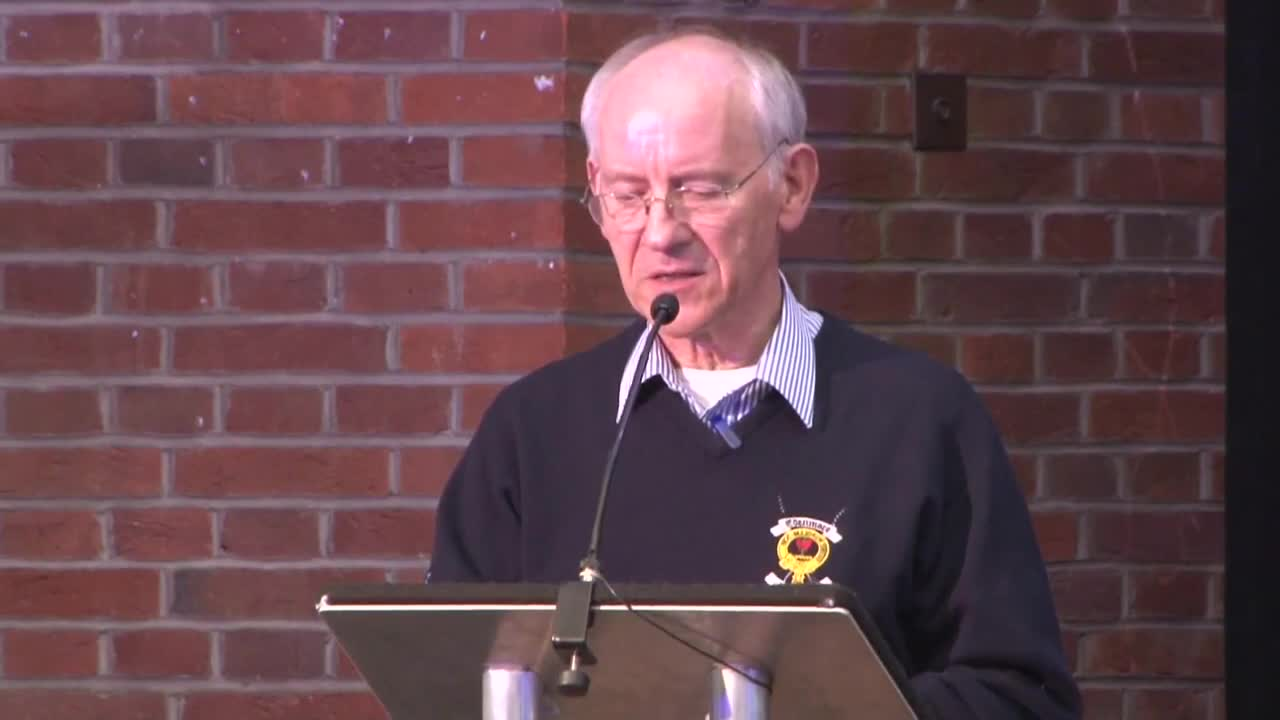 Dermot O Callaghan addresses Transformation Potential conference 1080p