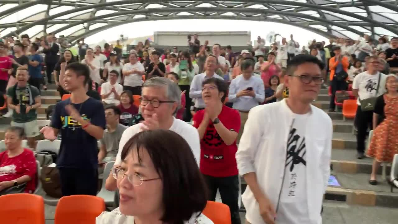 Global Rainbow Crossers Alliance Celebration at the EXPO in Taipei