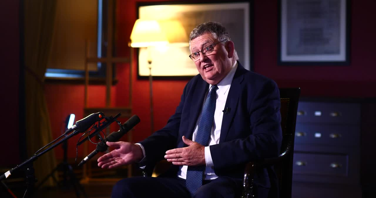 BBC1 (NI) Spotlight's Full interview with Mike Davidson