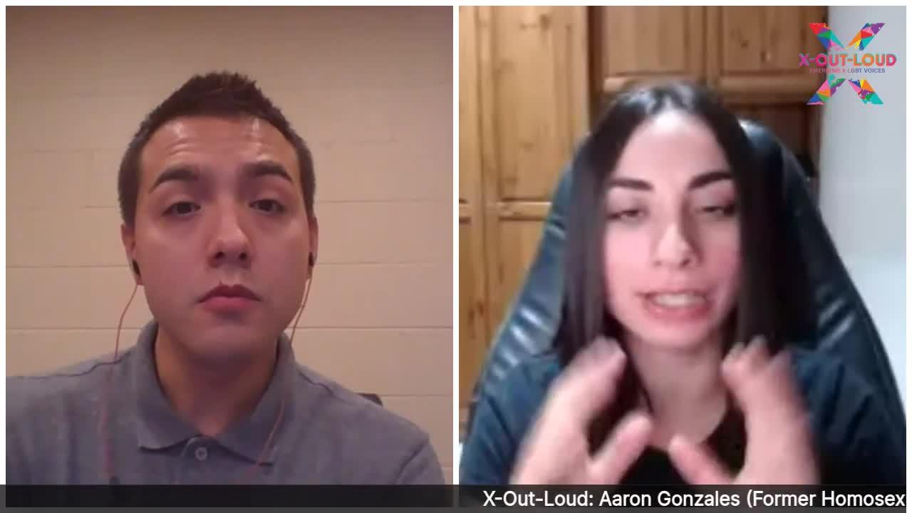 Aaron Gonzales (Former Homosexual) U.S.   X-Out-Loud