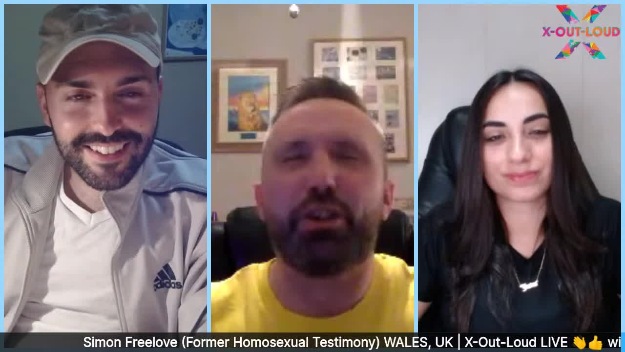 Simon Freelove (Former Homosexual Testimony) - WALES, UK   X-Out-Loud
