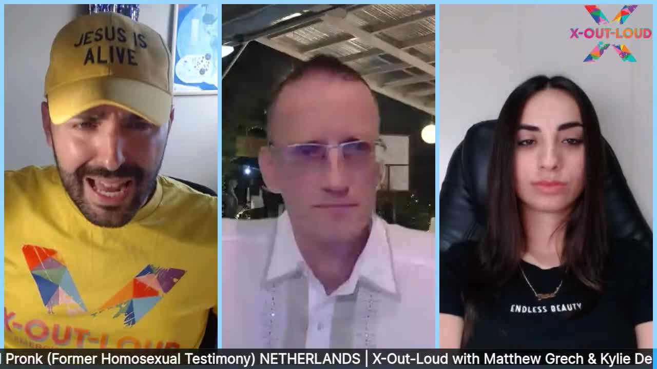 Ansel Pronk (Netherlands) - Former Homosexual Testimony | X-Out-Loud LIVE