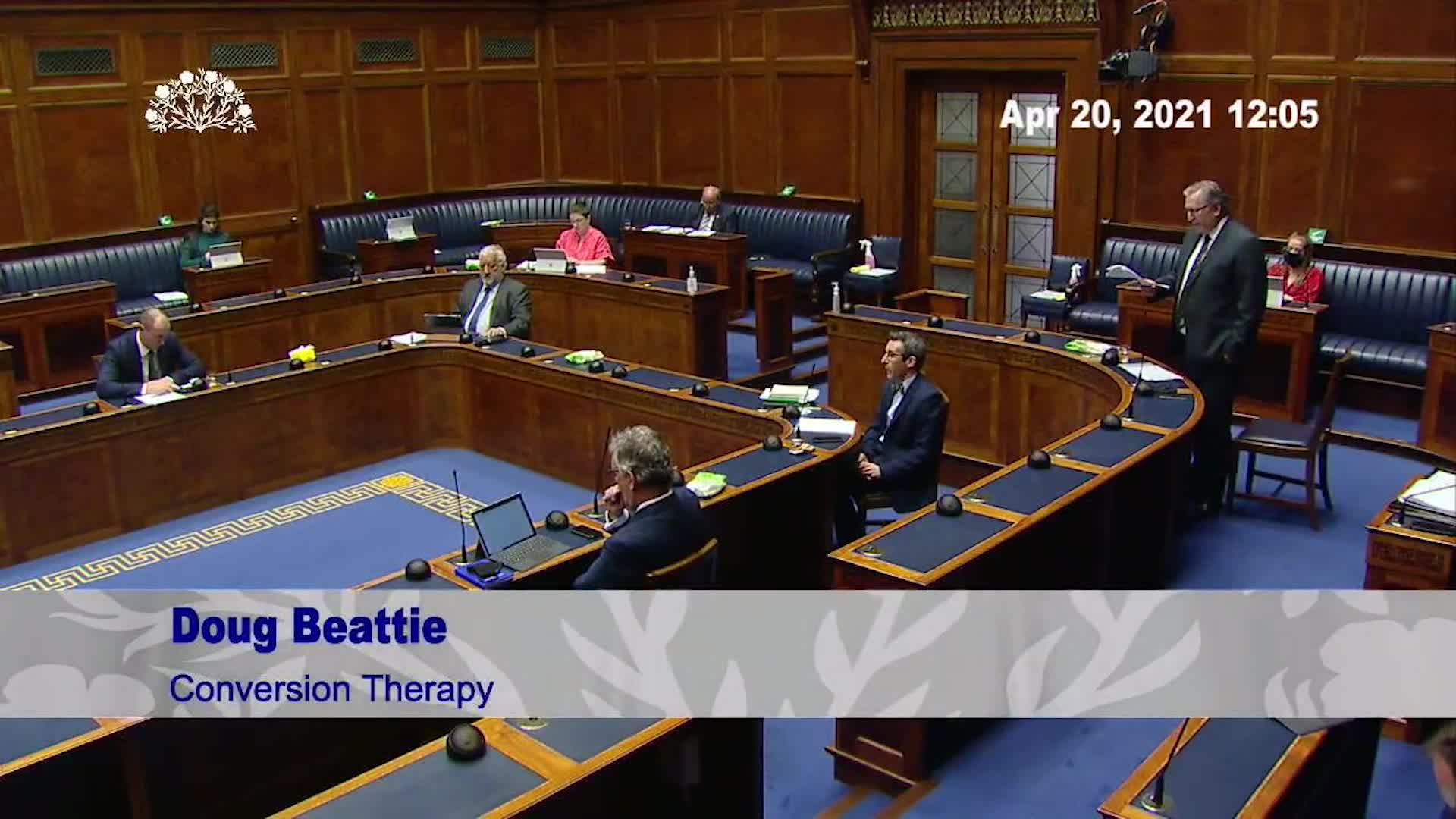Northern Ireland Assembly wants to Ban  Therapeutic Choice